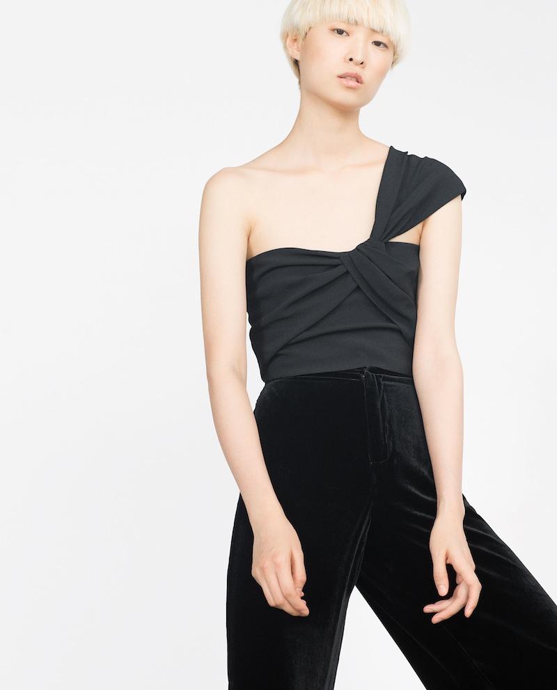 Zara Ausgeh Top Modepilot Sale