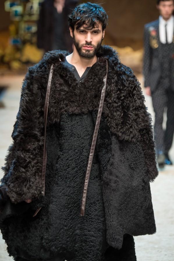 Dolce Gabbane Herren Pelz Modepilot