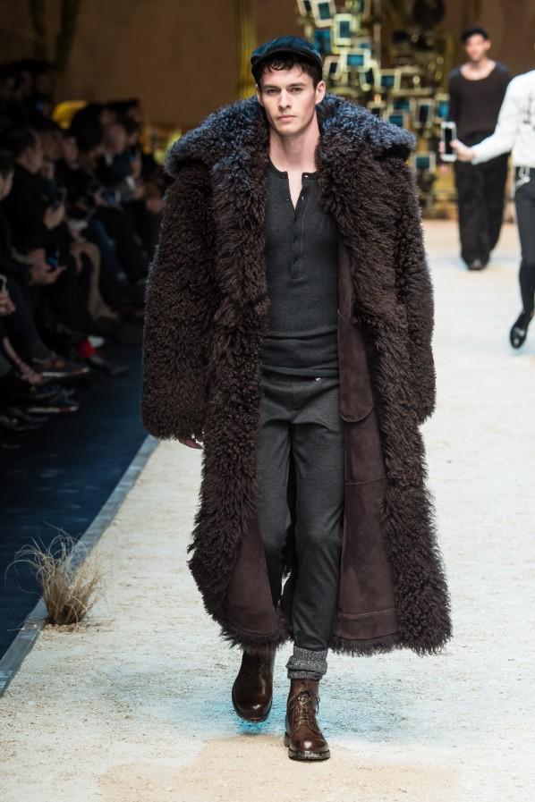 Dolce Gabbana Pelzmantel 2016 Modepilot Herren