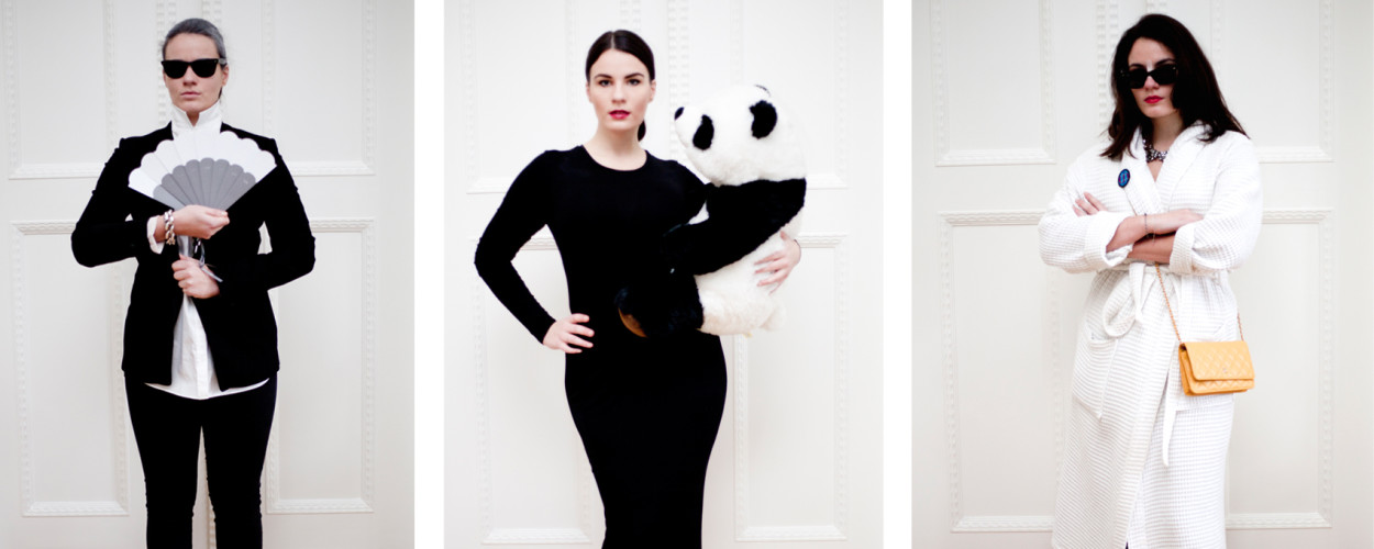 fasching verkleidung einfachkarl lagerfeld kom kardashian modepilot