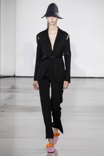 Anzug mit Cut-Outs an den Schultern von Jil Sander