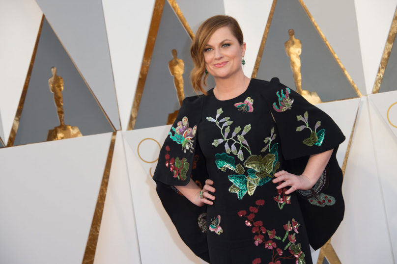 Amy Poehler arrives at The 88th Oscars® at the Dolby® Theatre in Hollywood, CA on Sunday, February 28, 2016.