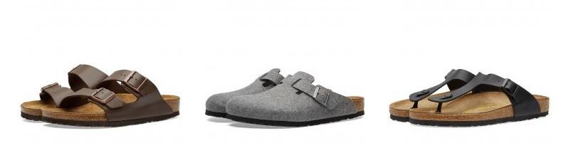 Mandals sandalen für den Mann birkenstock