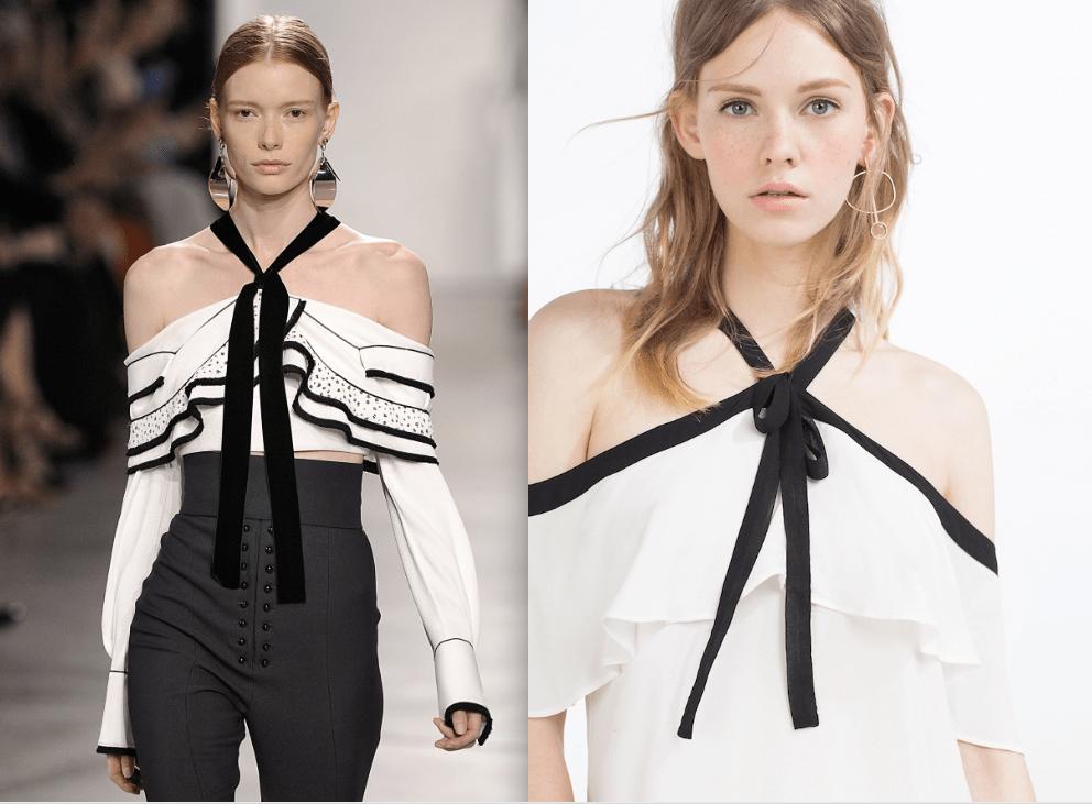 Proenza Schouler Bluse Zara Top Modepilot