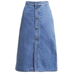 Set Jeansrock durchgeknoepft Modepilot