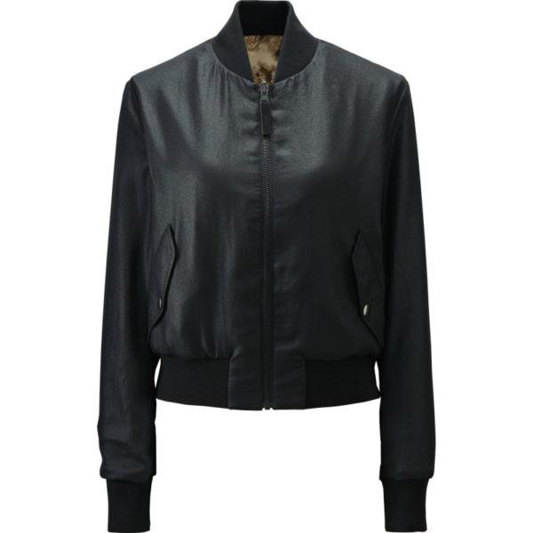 … eine Wendejacke. So sieht sie auf der anderen Seite aus. Zwei Jacken für den Preis von einer. Da schaue ich mal über das Material Polyester hinweg.