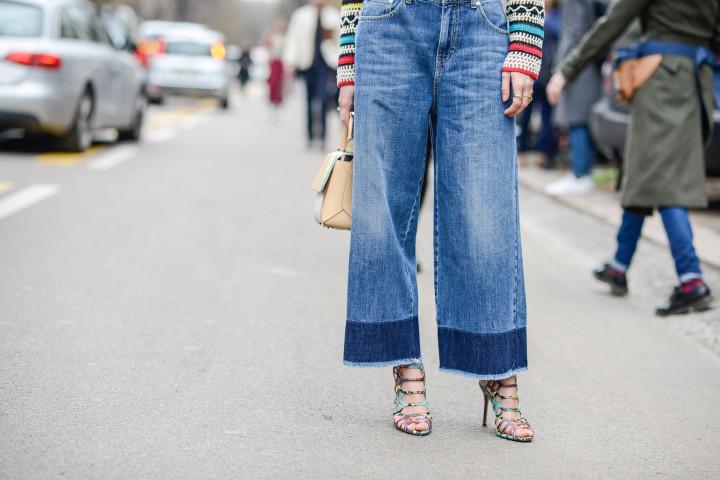 fransen Jeans saum