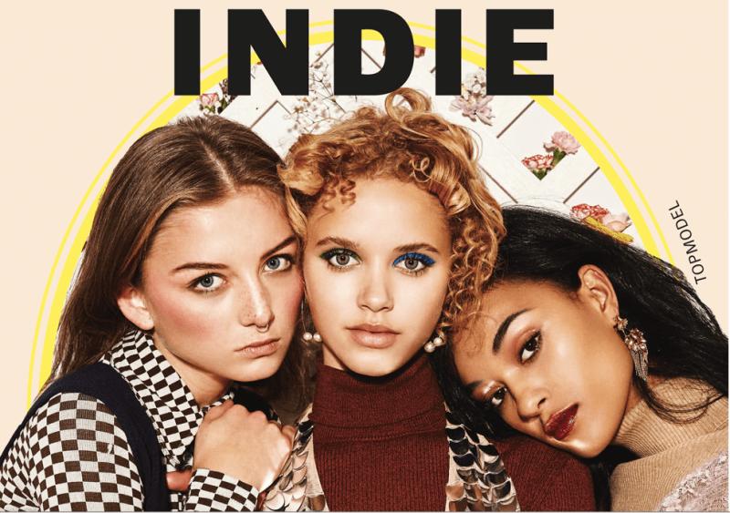 Cover der Indie mit den GNTM Models