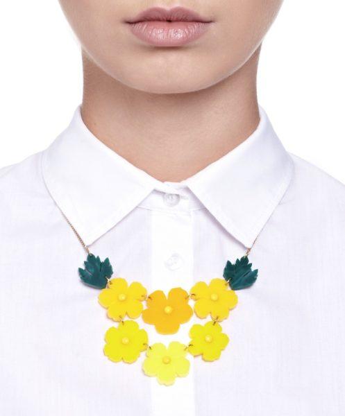 Butterblumen-Halskette