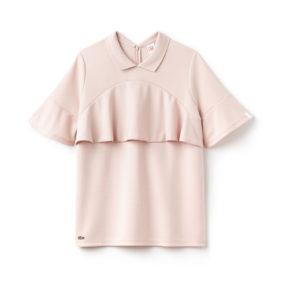 Lacoste Poloshirt rosa Volant Modepilot