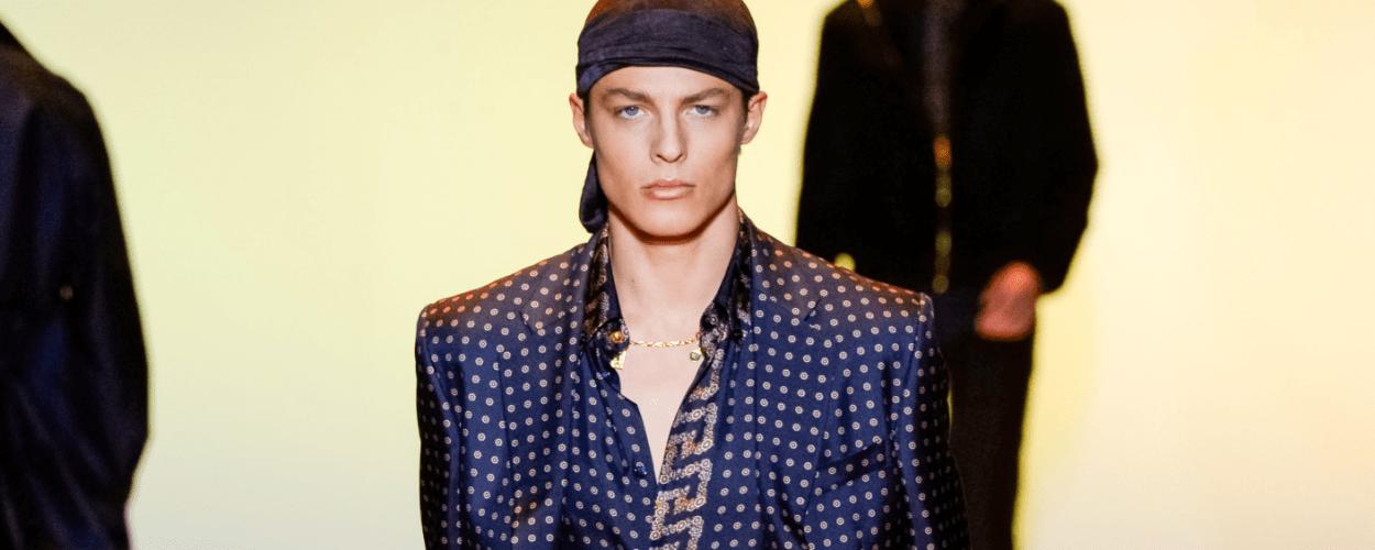 Versace Herren Männer Modepilot