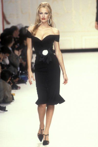 Karen Mulder für Chanel, 1995