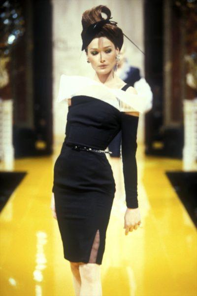 Carla Bruni für Christian Dior, 1995