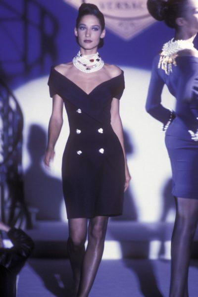 Model Marpessa für Gianni Versace, 1990