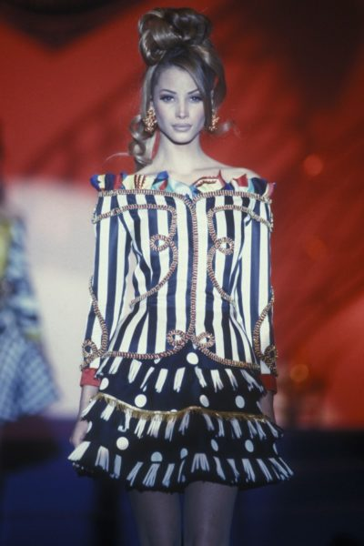 Christy Turlington für Gianni Versace, 1992