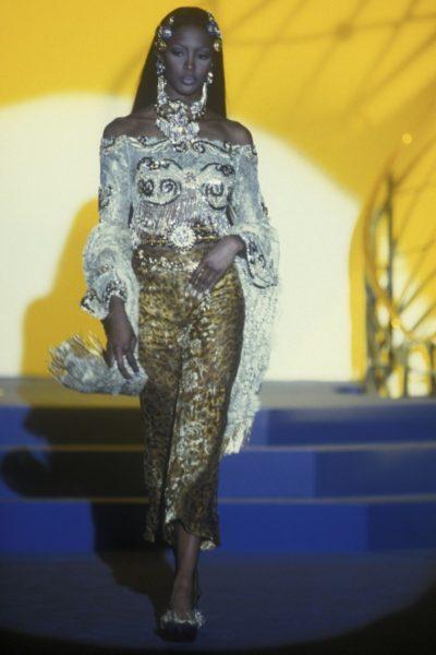 Naomi Campbell für Gianni Versace, 1992