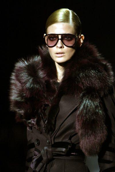 1984 in München geboren: Julia Stegner hat die Frosted Lips für Gucci 2004 getragen.