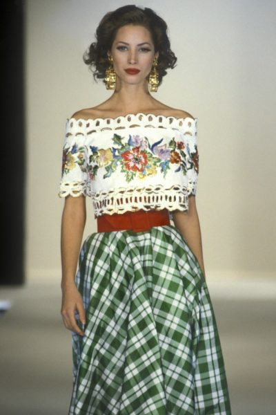 Christy Turlington für Guy Laroche, 1992