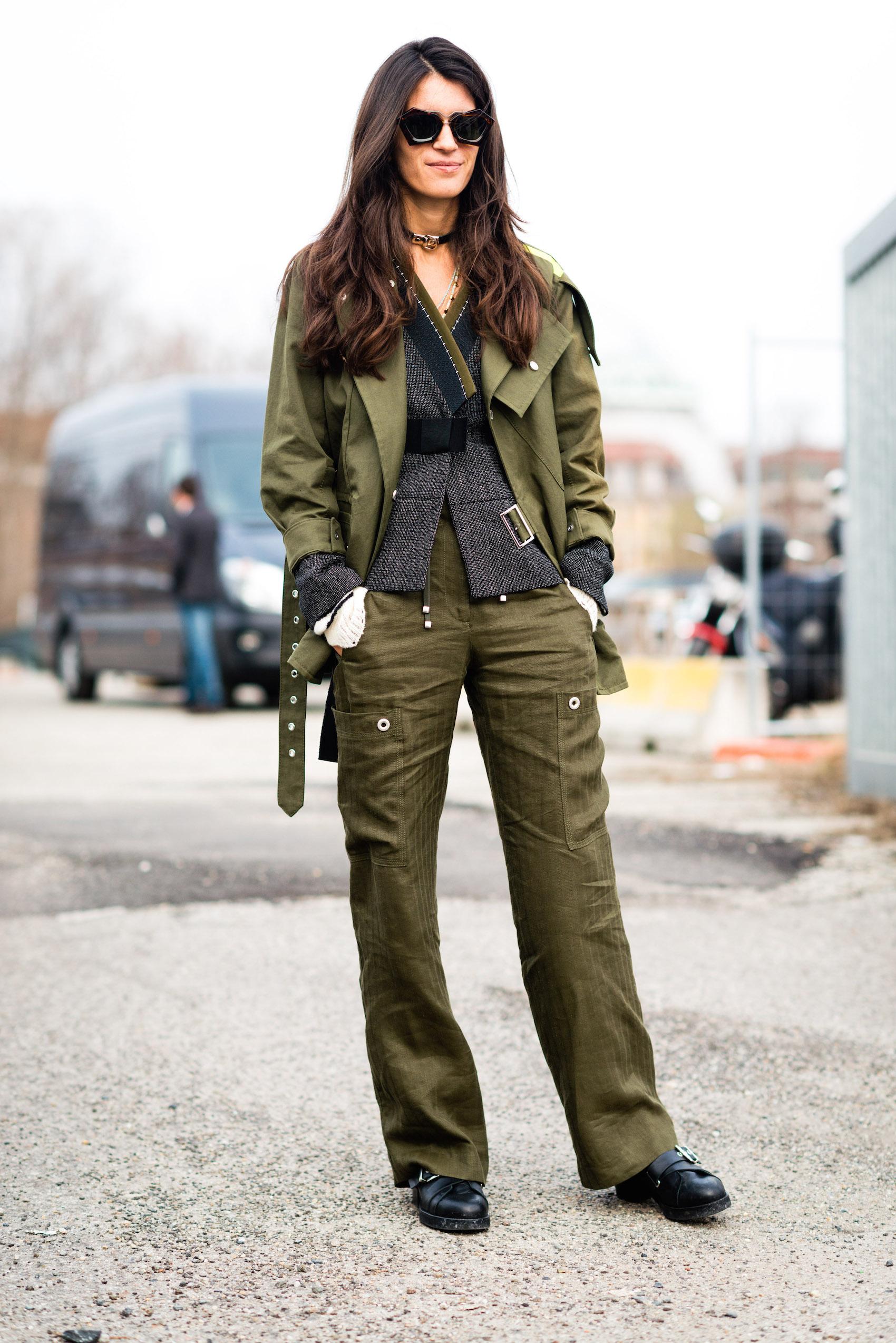 streetyle Anzug suit women