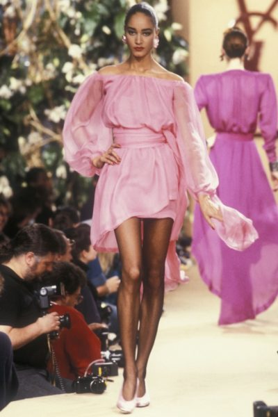 Yves Saint Laurent, 1988