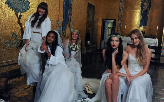 GNTM Hochzeit Brautshoting