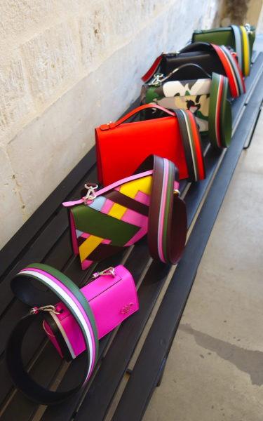 So bunt wie die Mode: Handtaschen von Pucci.