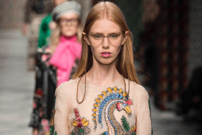 Gucci Brillenkette Modepillot eyewear strap