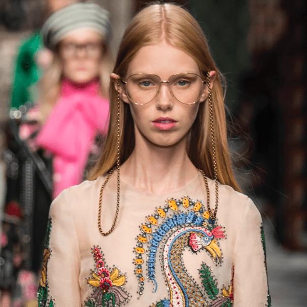 Trend: Brillenbänder und -ketten