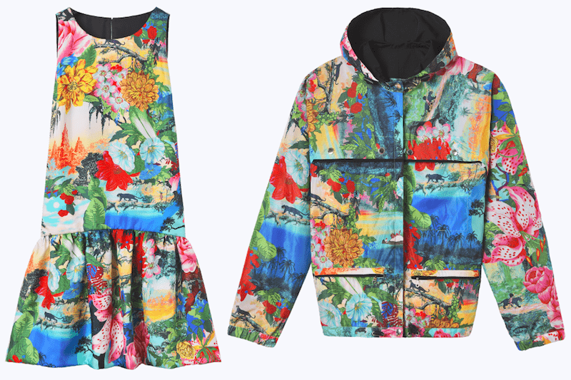 Kleid Jacke Dschungelbuch Modepilot