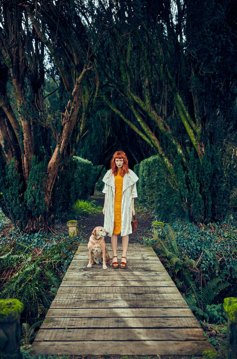 Mercedes Helnwein Spitzenkleid Modepilot ich-Magazin