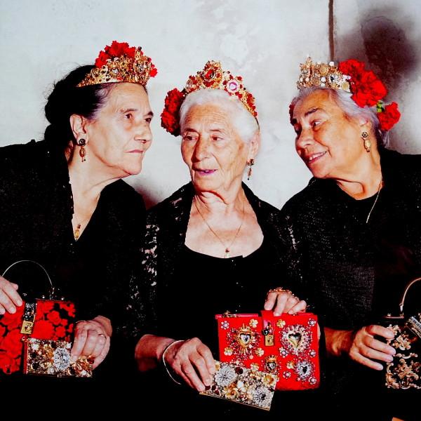 Die Alten kommen in Mode