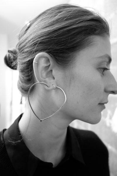Herzen am Ohr: Kreolen der anderen Art von Kim Mee Hye