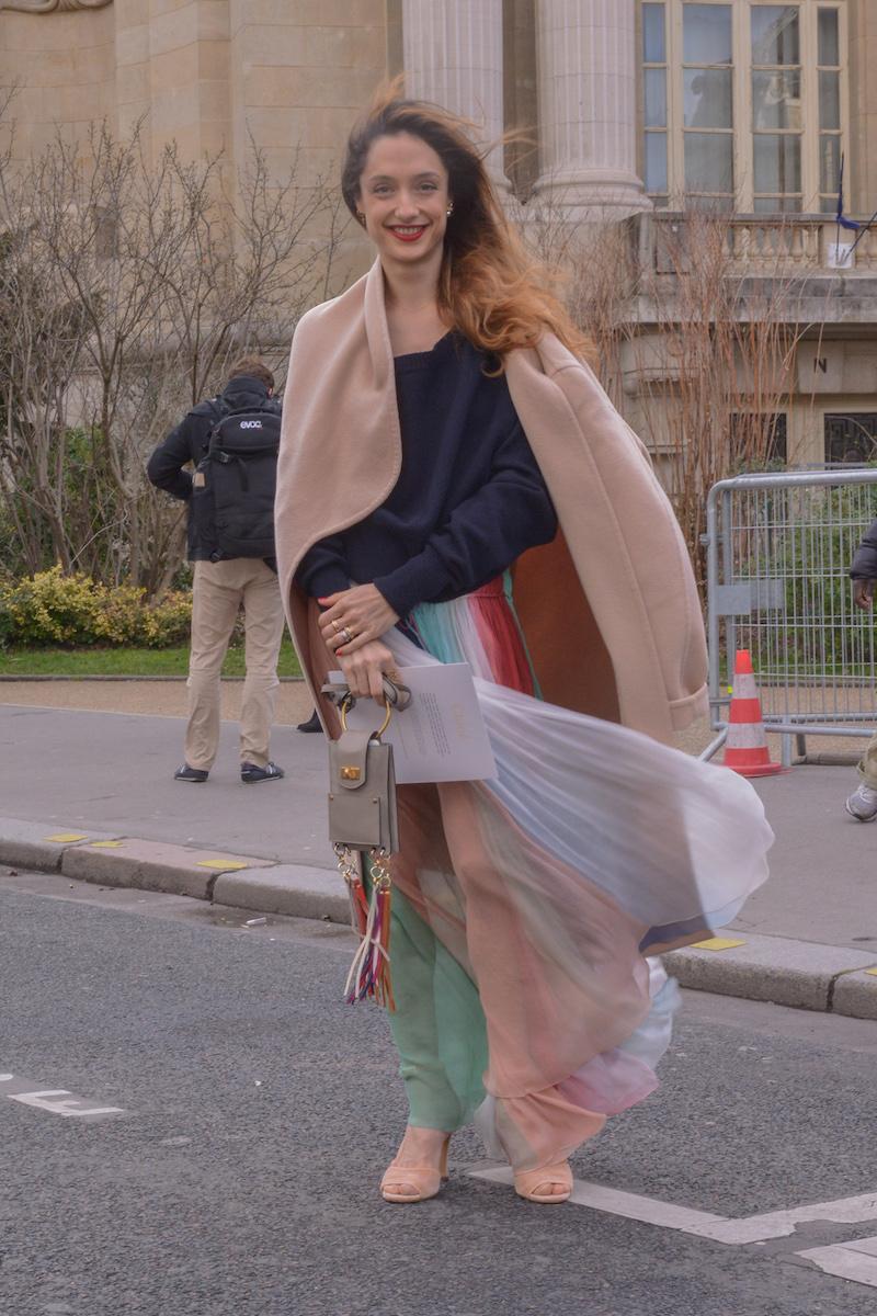 Chloé Regenbogen Streetstyle Modepilot