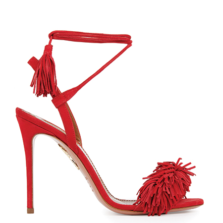 wild thing sandals fringe fransen aquazzura