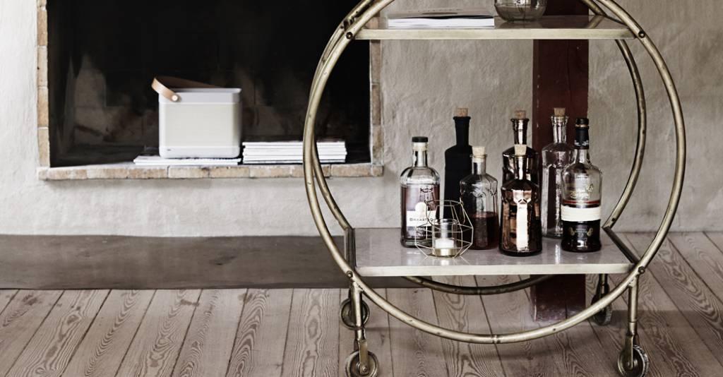 fashion f rs zuhause cocktailwagen modepilot. Black Bedroom Furniture Sets. Home Design Ideas