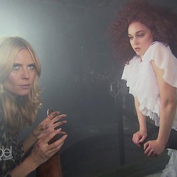 GNTM: Heidi läßt die Zombies tanzen