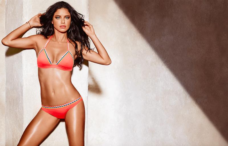 Adriana Lima Bikini Werbung calzedonia modepilot
