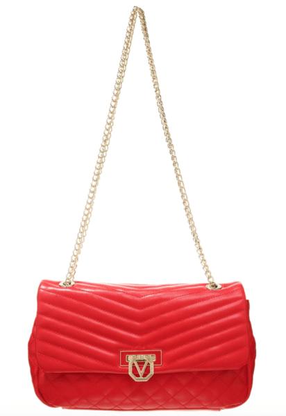 Schaut aus wie eine Saint Laurent Tasche, ist aber Valentino by Mario Valentino. Preis: 99,95 Euro