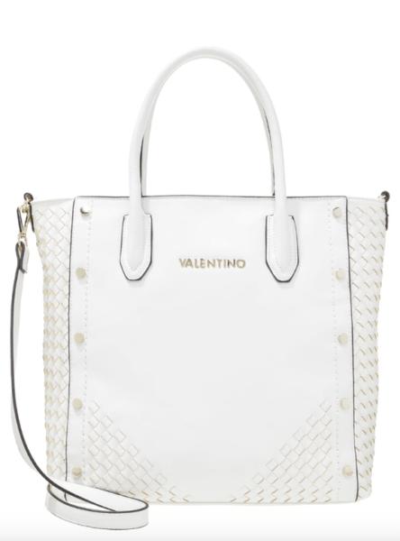 Schaut aus wie ein Prada Shopper von vor ein paar Saisons, ist aber Valentino by Mario Valentino. Preis: 134,95 Euro