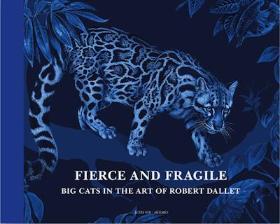 Buch Hermes Raubkatzen Wildkatzen Blau Robert Dallet Modepilot