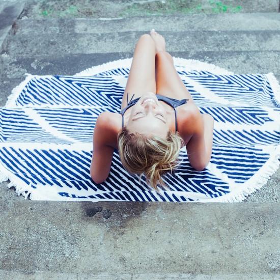 Lovin Summer Westwing strandhandtuch rund Modepilot