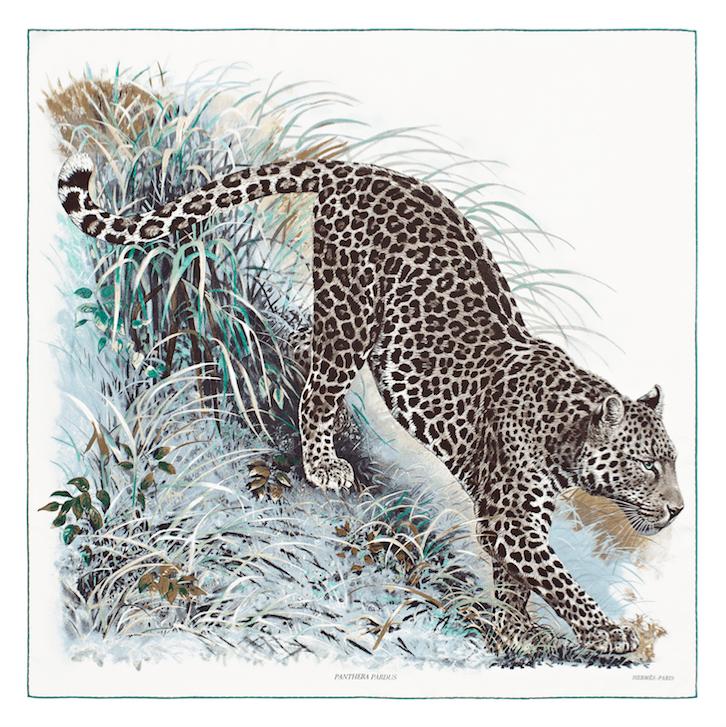 Panthera Pardus Leopard Hermes Carre Seidentuch Dallet Modepilot
