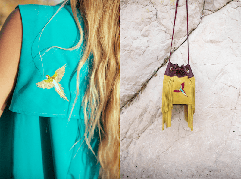 Van Palma Papagei bag Tasche Modepilot