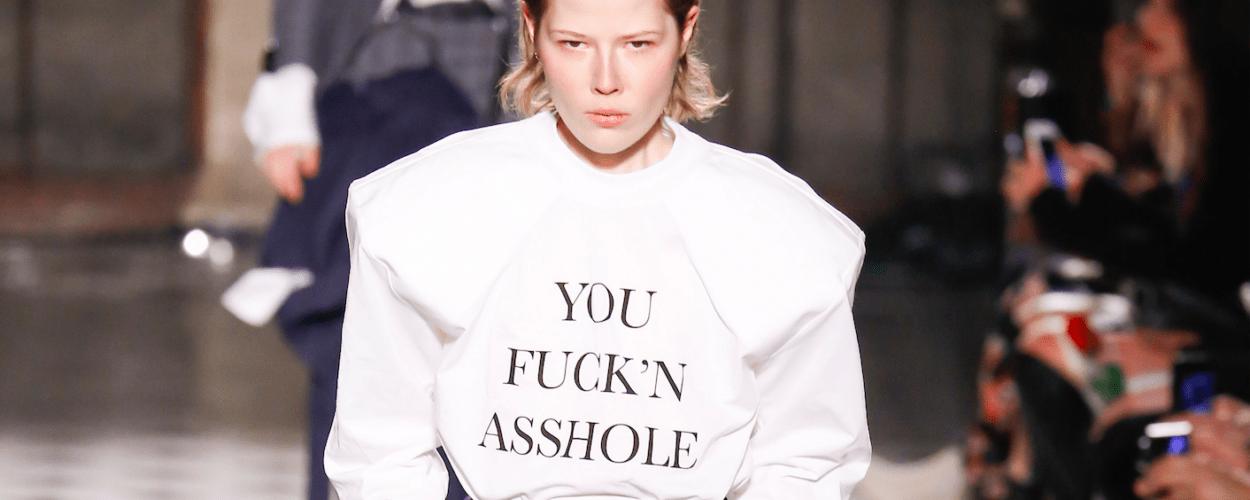 Vetements asshole winter 2017 Modepilot Couture
