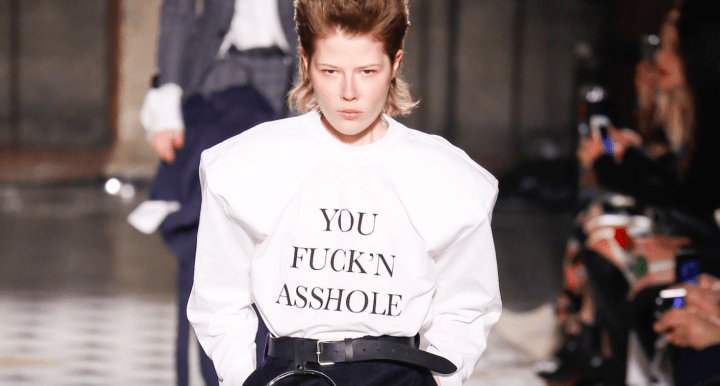 Vetements asshole winter 2017 Modepilot Couture