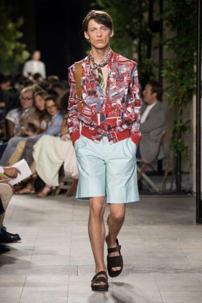 Hermès: mit Blouson