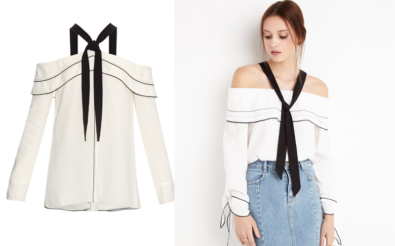 proenza kopie copycat off the shoulder pixiemarket modepilot