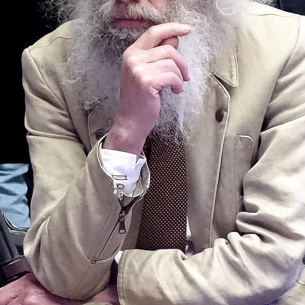 Der lässigste Bart der Menswear Fashionweek Paris