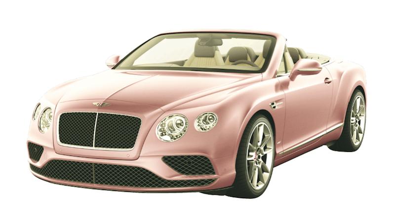 Bentley GT V8 Rosa Modepilot