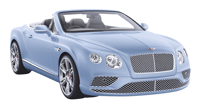 Bentley GTC Hellblau Himmelblau Modepilot